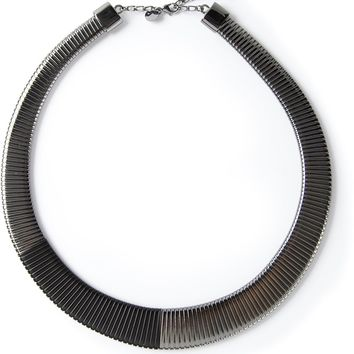 Mm6 By Maison Martin Margiela Metallic Necklace