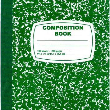 Composition Notebook Wide Ruled Case Pack 48