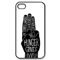 The Hunger Games Poster iPhone 4/4s Case Black and White iPhone 4/4s Case