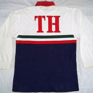 Vintage TOMMY HILFIGER Sailing Gear Polo Shirt