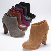 Stacked Platform Bootie - VS Collection