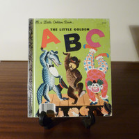 """Vintage 1979 Book """"The Little Golden ABC"""" - A little Golden Book / Retro kid's book / Golden Press Library / Learning the Alphabet"""