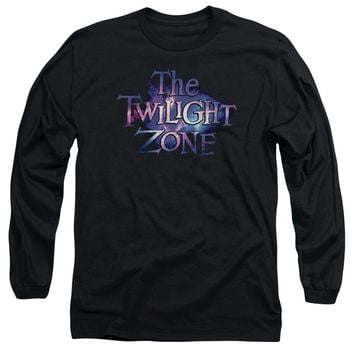 Twilight Zone - Twilight Galaxy Long Sleeve Adult 18/1 Officially Licensed Shirt