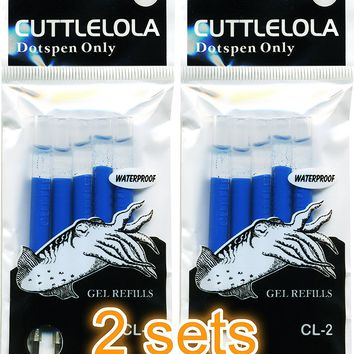 Color Refill for Cuttlelola Electric Dotspen, Pen Ink Set