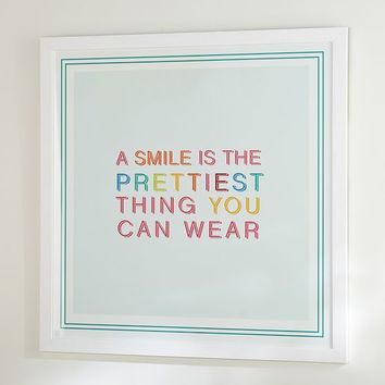 Hello Smile Wall Art