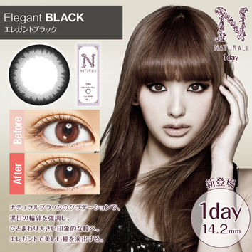Naturali 1-Day Elegant Black (10 Pcs)