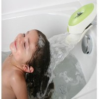 Flo water deflector with Bubble Bath Dispenser