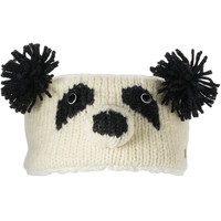 Patches the Panda Bear Knit Headband