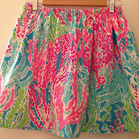 Flash SALE Lilly Pulitzer Let's CHA CHA Skirt