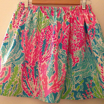 RESTOCKED Lilly Pulitzer Let's CHA CHA Skirt
