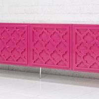 www.roomservicestore.com - Tangier Credenza in Hot Pink