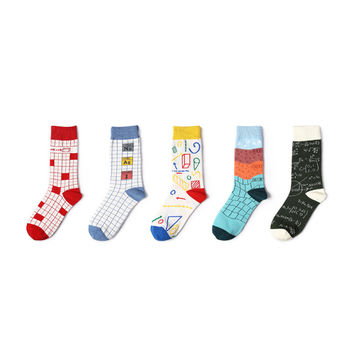School's Back 5 Sock Set