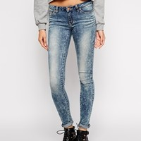 Noisy May Eve Antique Wash Skinny Jeans