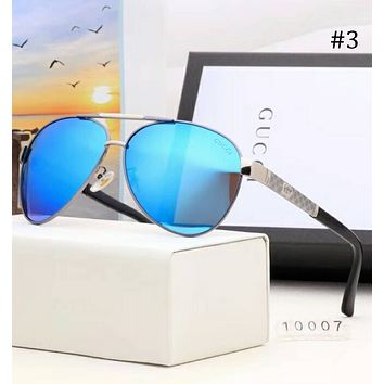 GUCCI new men's sunglasses color film sunglasses large frame polarized sunglasses F-A-SDYJ #3
