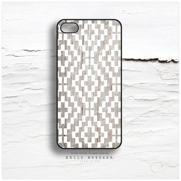 iPhone 5C Case Wood Print, iPhone 5s Case White Chevron, iPhone 4 Case, iPhone 4s Case, Rubber Geometric iPhone Case, TOUGH iPhone Cover I24
