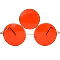 Third Eye Sunglasses- Red