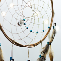 Large Dreamcatcher  - Bohemian Wall Hanging Boho Dream Catcher Baby Tribal Crib Nursery Baby Feathers Baby Boy Girl