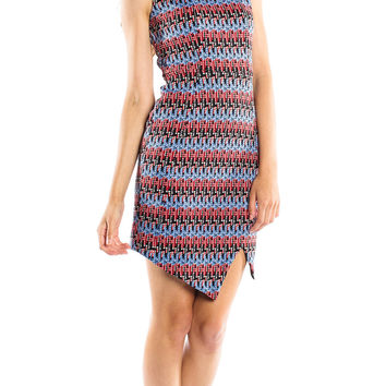 Tbags Los Angeles Bondi Sleeveless Waisted Dress