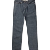 Jade Blue Jade Selvedge Weird Guy Jean