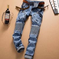 Men's Fashion Jeans [407120183325]