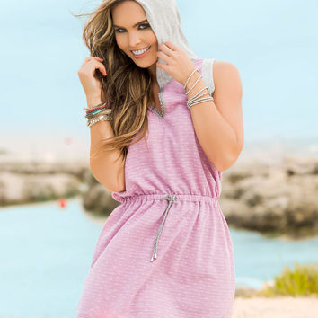 Great Little Hoodie Sun Dress For Breeze Beach Days