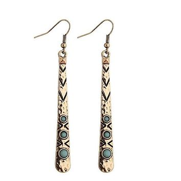 Hieroglyphic Earrings