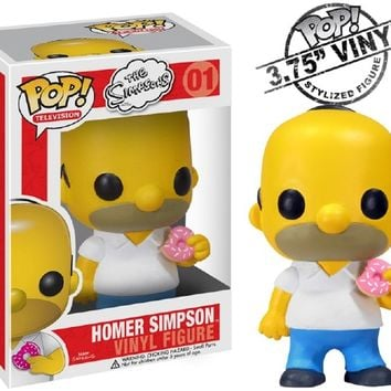 Kirin Hobby : POP! Television: Homer Simpson Vinyl Figure by Funko 830395025193