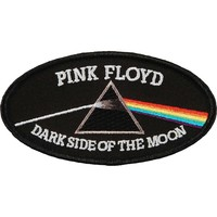 Pink Floyd Men's Embroidered Patch Black