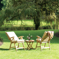 Teak Reclining Chair from the Rockport Collection by Thos. Baker