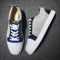 Cl Christian Louboutin Low Style #2013 Sneakers Fashion Shoes