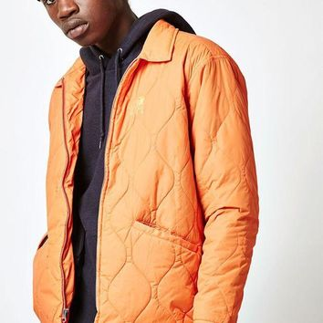 DCCKYB5 OBEY Bulldogs Quilted Jacket
