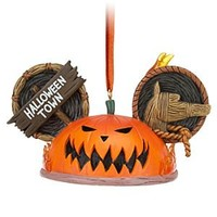 Pumpkin King Ear Hat Ornament - Tim Burton's The Nightmare Before Christmas | Disney Store