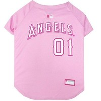 spbest Los Angeles Angels Pink Pet Jersey
