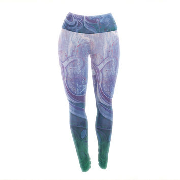 "Mat Miller ""Electric Dreams II"" Yoga Leggings"