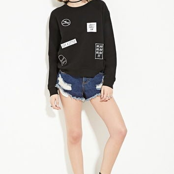 Common Sense Graphic Sweatshirt | Forever 21 - 2000152550