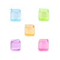 Kikkerland® Square Reusable Ice Cubes (Set of 30)