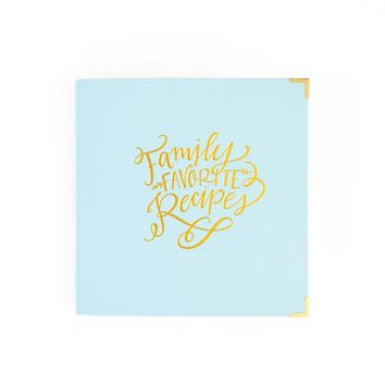 Family Recipe Binder by Emily Ley