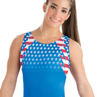 Aly Raisman Fierce Pride Leotard from GK Elite
