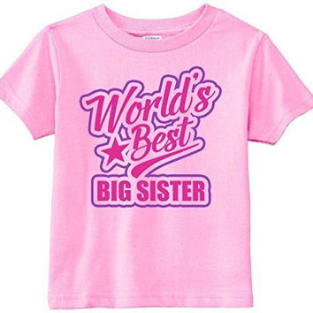 Lil Shirts World's Best Big Sister Youth & Toddler Shirt