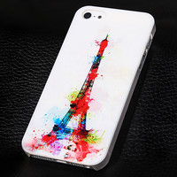 Eiffel tower phone case for iphone 5 5s SE + Nice gift box 072702