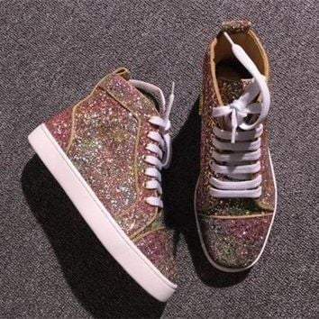 DCCK2 Cl Christian Louboutin Style #2286 Sneakers Fashion Shoes