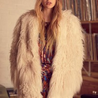 Free People Lamy Faux Fur Coat