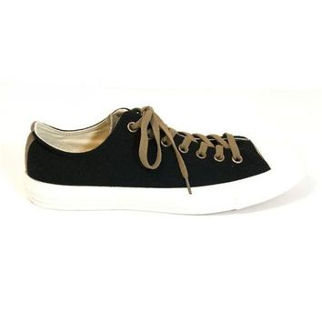 CREYONIG Converse All Star Chuck Taylor - Black Ox Lace-Up Low-Top