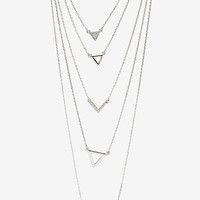 Make A Point Multi Layer Necklace