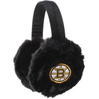 Boston Bruins Women's Faux Fur Ear Muffs
