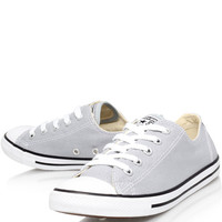 Converse Grey Chuck Taylor Dainty Low Trainers | Women's Shoes | Liberty.co.uk