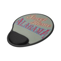 Alabama is Home Gel Mouse Pad