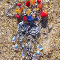 Four Elemental Tree of Life Necklace