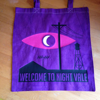 Welcome to Night Vale Cotton Tote