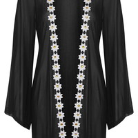 **Daisy Trim Mesh Beach Cover-Up by Rare - New In This Week - New In